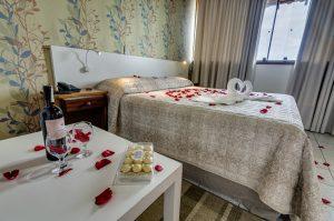 Apartamento categoria superior decorado para lua de mel