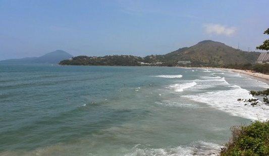 Praia das Toninhas em Ubatuba