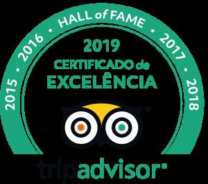 Hotel Coquille Certificado de Excelencia Tripadvisor 2019